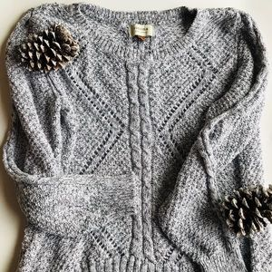 ❄️ Sonoma Cozy Marled Knit Sweater ❄️